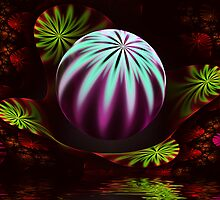 Christmas Bauble by Pam Amos