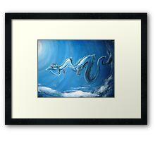 Haku & Chihiro (Spirited Away) Framed Print