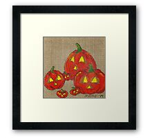 Lantern Patch Framed Print