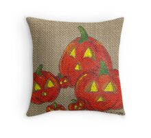 Lantern Patch Throw Pillow