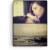 Across The Sea.... Canvas Print