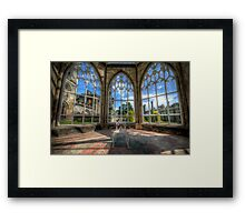 Solitary Conservatory Framed Print