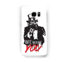 "Uncle Sam ""We want you"" Samsung Galaxy Case/Skin"