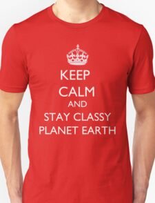 KEEP CALM CHAMP! Unisex T-Shirt