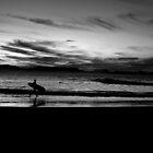 B&W Ride by Kat de la Perrelle