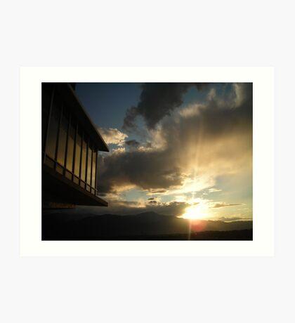 """Architectural Sunset - Colorado Springs, Colorado"" Art Print"