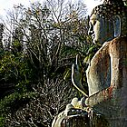 Look within, thou art the Buddha. by Kat de la Perrelle