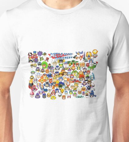 Mega Man Masters  Unisex T-Shirt