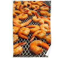 Shrimp Roast On the Grill Poster