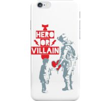 US Soldier Hero or Villain iPhone Case/Skin