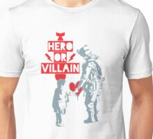 US Soldier Hero or Villain Unisex T-Shirt