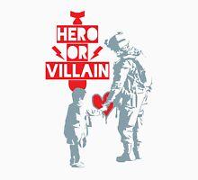 US Soldier Hero or Villain Unisex T-Shirt