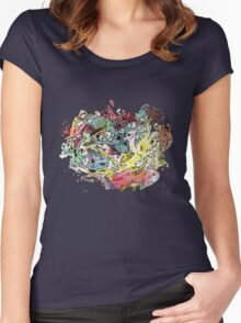 My loved Chaos Women's Fitted Scoop T-Shirt