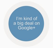 Big Deal on Google+ by Tim Norton