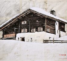 Avers House, Switzerland by itchingink