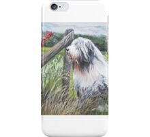 Bearded Collie Fine Art Painting iPhone Case/Skin