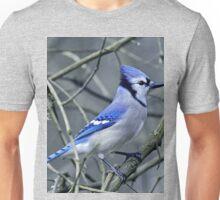 Blue Jay in the Brush Unisex T-Shirt
