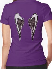 Fallen Angel Women's Fitted V-Neck T-Shirt