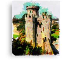 Beautiful Britain - Warwick Castle Canvas Print