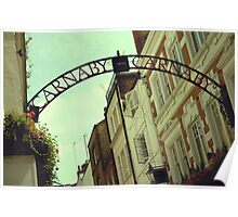 Carnaby Street London Poster