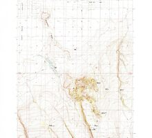 USGS Topo Map Oregon Christmas Valley 279352 1986 24000 by wetdryvac