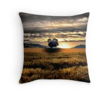 Another Day Of Glory ~ Sand Point, Oregon, USA Throw Pillow