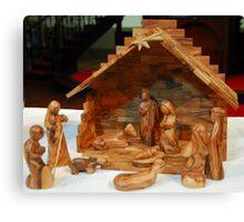 0175  Nativity Scene Canvas Print