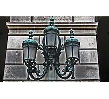 Light Fixture - City College of New York Photographic Print