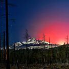 Three Fingered Jack Sunset  ~ Oregon Cascades ~ by Charles &amp; Patricia   Harkins ~ Picture Oregon