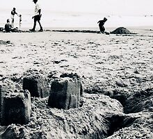 Sandcastles in the Sand by James Drew