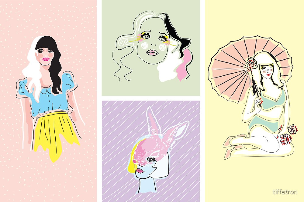 Pastel Fashion Collection by Tiffany Atkin