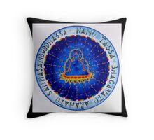 Cosmic Buddha Throw Pillow