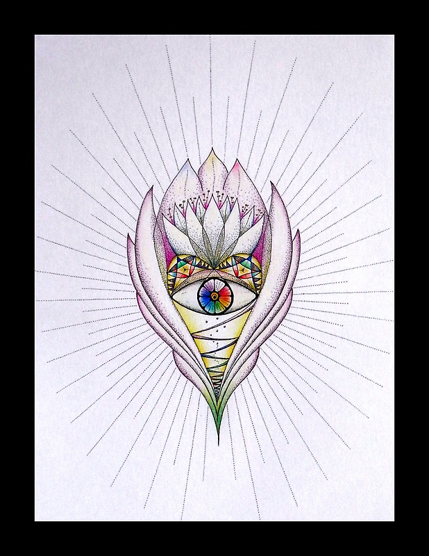 Lotus Heart by Gill Rippingale
