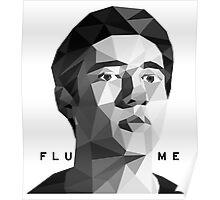 Flume Head art Poster
