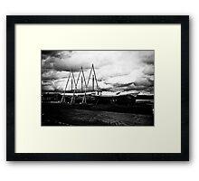 Boats, Sõru. Framed Print