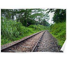 Diminishing Track Poster