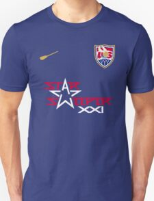US Quidditch Jersey - 2014 World Cup Unisex T-Shirt