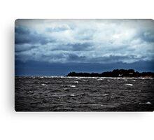 Sea, The Sky. Canvas Print