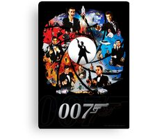 The Incredible World Of 007 Canvas Print