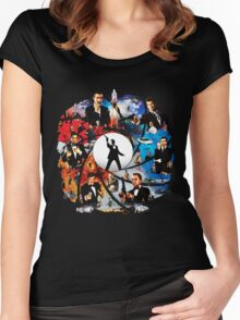 The Incredible World Of 007 Women's Fitted Scoop T-Shirt