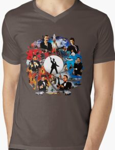 The Incredible World Of 007 Mens V-Neck T-Shirt