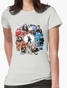 The Incredible World Of 007 Womens Fitted T-Shirt