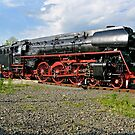 German class 01 Steam Locomotive (2). by David A. L. Davies