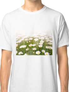 White herb camomiles clump Classic T-Shirt