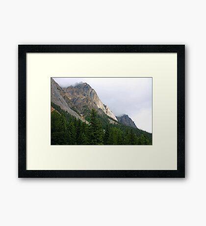 Rugged  Framed Print
