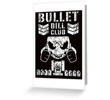 HWR Bullet Bill Club Greeting Card