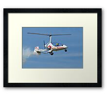Calidus Autogyro, Shoreham Framed Print