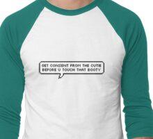 Consent Men's Baseball ¾ T-Shirt