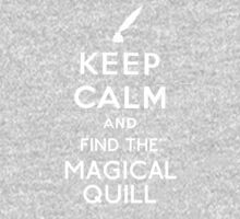 Keep Calm And Find The Magical Quill One Piece - Long Sleeve