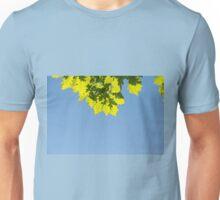 Bunch of green oak leaves Unisex T-Shirt